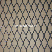 Diamond Hole Hot mencelupkan Galvanized Expanded Metal Mesh